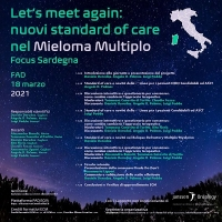 Let's meet again: nuovi standard of care nel Mieloma Multiplo. Focus Sardegna