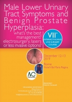 Male Lower Urinary Tract Symptoms and Benign Prostate Hyperplasia: what's the best management? electrosurgery, lasers or less invasive options? 2019